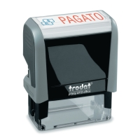 TIMBRO AUTOINCHIOSTRANTE TRODAT OFFICE PRINTY 4.0  PAGATO  PLASTICA RICICLATA