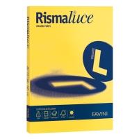 RISMA 300 FOGLI CARTA RISMALUCE FAVINI FORMATO A4 90 G/MQ GIALLO SOLE