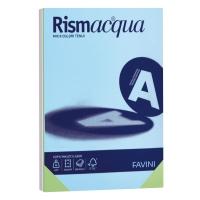 RISMA 125 FOGLI CARTA RISMACQUA FAVINI FORMATO A4 200 G/MQ COLORI ASSORTITI