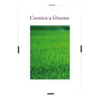 CORNICE A GIORNO IN PVC ANTIRIFLESSO - F.TO 35 x 50 CM