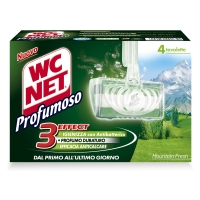 CONF. 4 TAVOLETTE SOLIDE WC NET PROFUMOSO MOUNTAIN FRESH