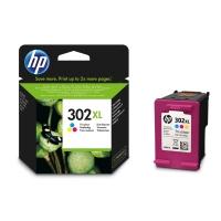 CARTUCCIA HP PER STAMPANTI INKJET 302XL F6U67A CIANO/MAGENTA/GIALLO