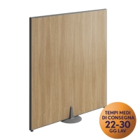 PANNELLO MODULARE FRONT-OFFICE MECO OFFICE ARREDO L 80 NOCE