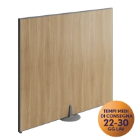 PANNELLO MODULARE FRONT-OFFICE MECO OFFICE ARREDO L 100 NOCE