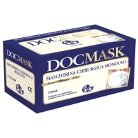MASCHERINA CHIRURGICA MONOUSO DOC MASK GARDENING TIPO II  VERDE - CONF. 50