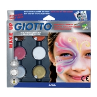 OMBRETTI COSMETICI CREMOSI GIOTTO MAKE UP COLORI GLAMOUR - CONF. 6