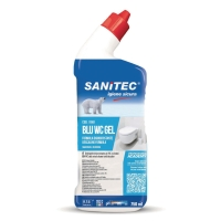 DETERGENTE PER IL WC BLU WC GEL SANITEC 750 ML