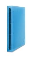 Raccoglitore 2ndLife favorite 4anelli 30mm copert. effetto ghiaccio col.blu