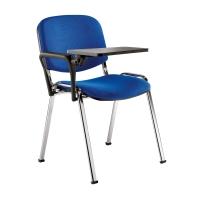 Sedia conferenza Eco SEDITALY COLORE NERO - bracciolo con tavolino OPZIONALE