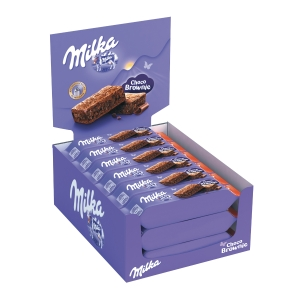 SNACK DOLCE MILKA SOFT CAKE BROWNIE CONF.24