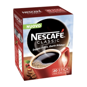 CAFFÈ ISTANTANEO NESCAFÈ CLASSIC STICK DA 1,7G CONF. 20