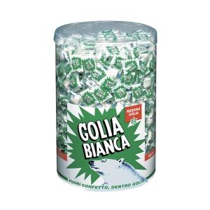 Caramelle Golia Bianca gusto menta-liquirizia 1 kg