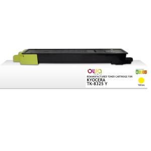 /Toner Clover compatibile con Kyocera TK8325Y TK8325Y-NTR 30K giallo