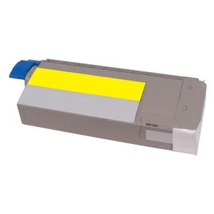 /Toner Clover compatibile con Oki 44318605 OC710Y-NTR 7K giallo