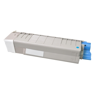 /Toner Clover compatibile con Oki 43872307 C5650C-LY-NTR 6K ciano