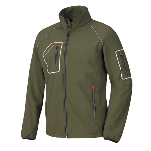 Giacca Softshell Issa Line Just verde tg M