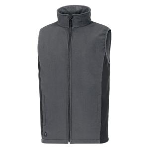Gilet Softshell Deltaplus Halden grigio tg 3XL