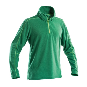 Micropile mezza zip fashion P&P Workwear verde tg M
