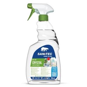 Detergente vetri Green Power Sanitec professionale spray 750 ml