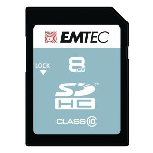 Scheda di memoria SDHC Emtec Card Classic classe 10 8 GB