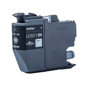 /Cartuccia inkjet Brother LC3211BK 200 pag nero