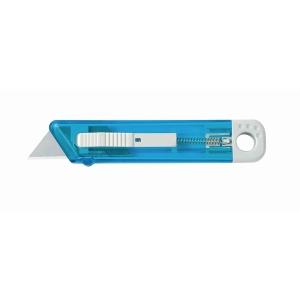 Cutter di sicurezza Lebez lama rientrante 18 mm colori assortiti