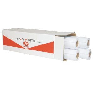 CONF. 2 ROTOLI CARTA PLOTTER OPACA JP ONE AS MARRI 90 G/MQ - 42,0 CM x 50 M