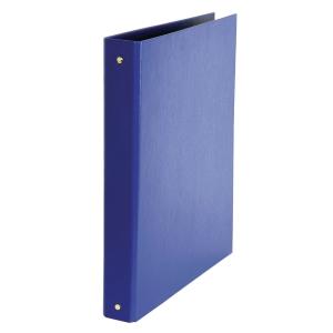 RACCOGLITORE DAILY CON 4 ANELLI SUL DORSO 30MM IN PVC E CARTONE BLU