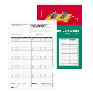 BLOCCO ACQUISTO CARBURANTE EDIPRO 50 FOGLI 14,8X23CM