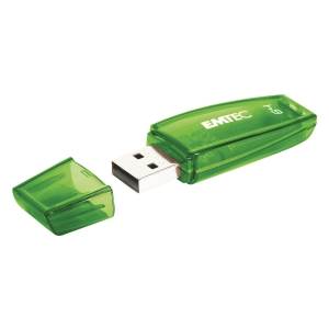 MEMORIA USB 2.0 C410 COLOR MIX EMTEC 64GB NERO