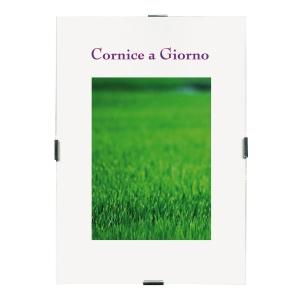 CORNICE A GIORNO PVC ANTIRIFLESSO FORMATO A4