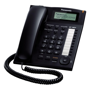 TELEFONO FISSO PANASONIC KX-TS880EXB ALFANUMERICO