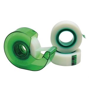 Nastro adesivo invisibile Scotch®Magic™ L33mxH19mm - conf. 3 + dispenser gratis