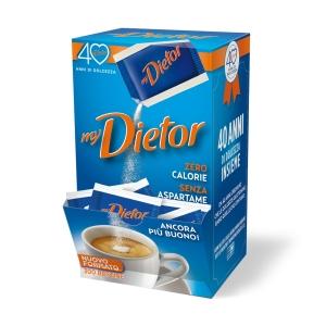 Dolcificante ipocalorico in polvere Dietor in bustine - conf. 300