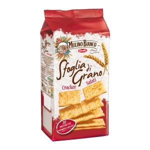 Cracker sfoglia di grano salati Mulino Bianco in pacchetto da 25 g conf. 20