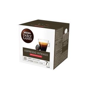 CAPSULE CAFFE  ESPRESSO DECAFFEINATO NESCAFE ® DOLCE GUSTO® CONF. 16
