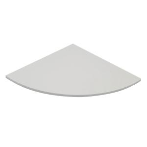 Raccordo angolare a 90° TDM linea Office L 80 x P 80 cm grigio