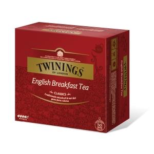 Tè English Breakfast Twinings in bustina - conf.50