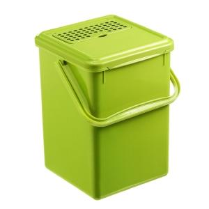 Cestino per i rifiuti organici Rotho con maniglia 8 L