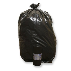 Sacchi spazzatura Rolsac 175 L nero - rotolo 10