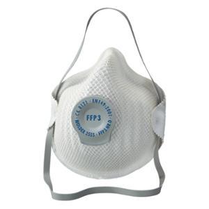 Respiratore a conchiglia Moldex 2555 FFP3 con valvola - conf. 20