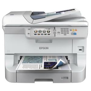 STAMPANTE INKJET MULTIFUNZIONE 4 IN 1 A COLORI EPSON WORKFORCE WF-8510DWF