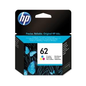 CARTUCCIA INK-JET STANDARD HP C2P06AE - NR 62 -  690 - CIANO/MAGENTA/GIALLO