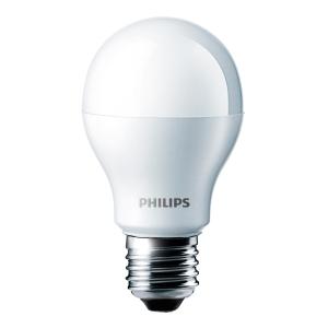 LAMPADINA LED GOCCIA SMERIGLIATA E27 6W LUCE CALDA PHILIPS