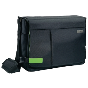 BORSA MESSENGER SMART TRAVELLER LEITZ PER PC DA 15.6  NERO