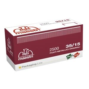 PUNTI METALLICI 35/15 RO-MA CONF. DA 2.500