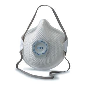 Respiratore a conchiglia Moldex 2365 FFP1 con valvola - conf. 20