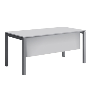 GONNA PER SCRIVANIA MECO OFFICE ARREDO L 160 CM BIANCO