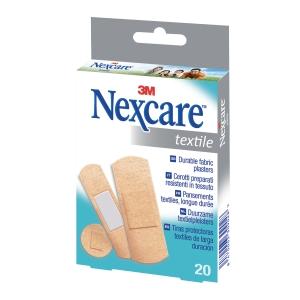 Cerotto in tessuto 3M Nexcare Textile misure assortite - conf. 20