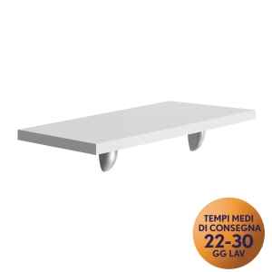 MENSOLA PER FRONT-OFFICE MECO OFFICE ARREDO L 60 BIANCO